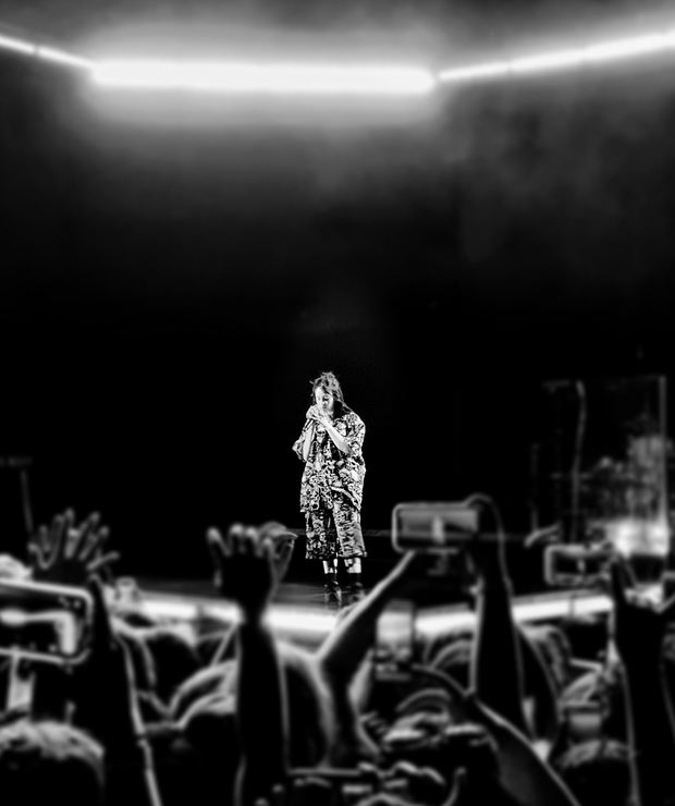 billie eilish concert image