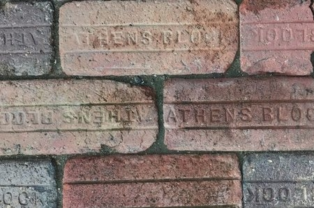 Ohio University Athens Block Bricks