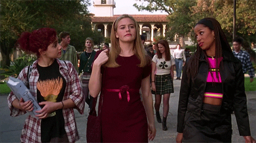 Gif from the movie Clueless