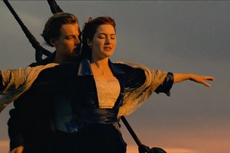 titanic im flying scene