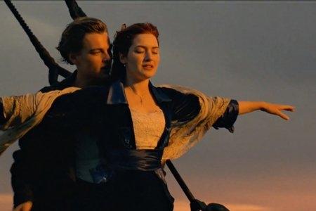 titanic im flying scene