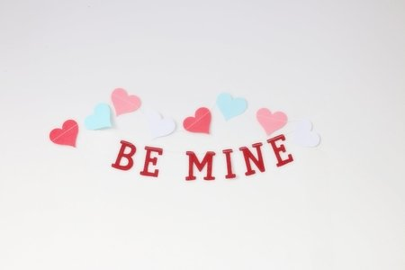 Be Mine banner for valentine's day