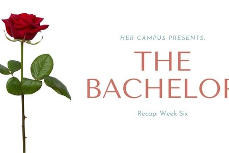 original graphic for week six of the bachelor recap series
