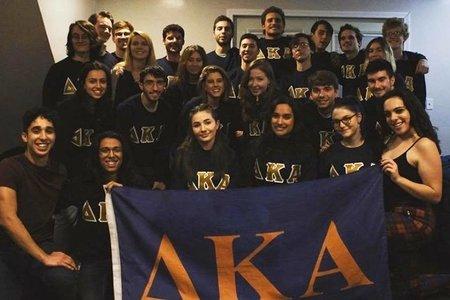 Delta Kappa Alpha New Class Fall 2019