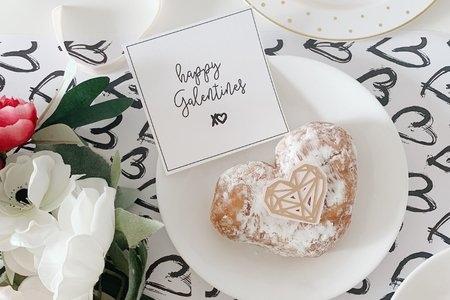 Galentin'es doughnuts