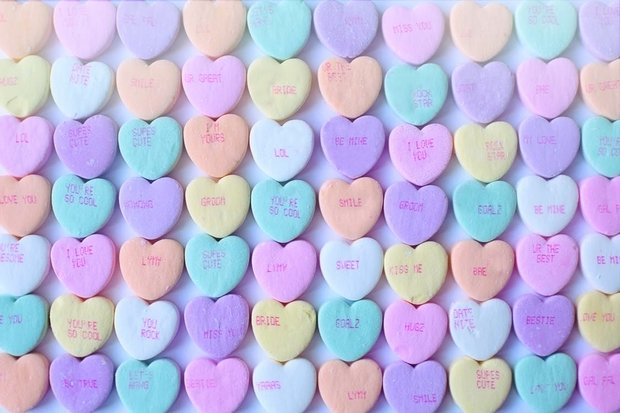 Valentine's Sweetheart Candies