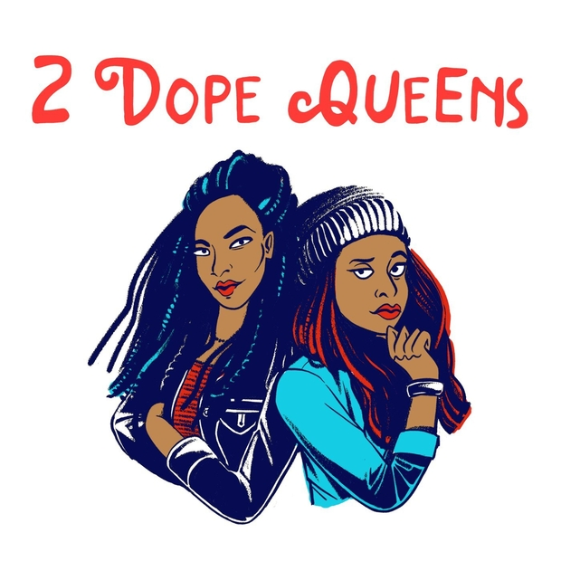 2 Dope Queens Podcast Cover