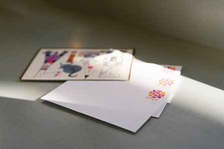 "white paper with letters ""love letters"""
