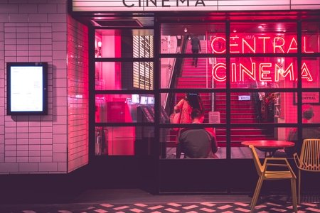 Pink Movie Theater