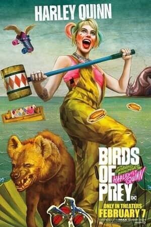 Harley Quinn Birds of Prey character poster