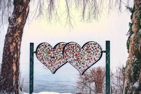 locks on heart