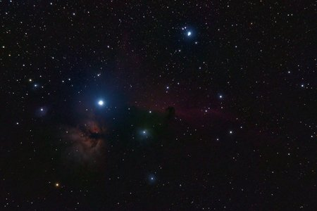 Picture of stars in night sky