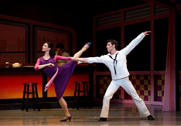 Kathleen Breen Combes and James Whiteside; photo by Gene Schiavone, courtesy of Boston Ballet