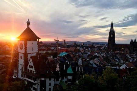 photo of Freiburg, Germany, where I studied abroad
