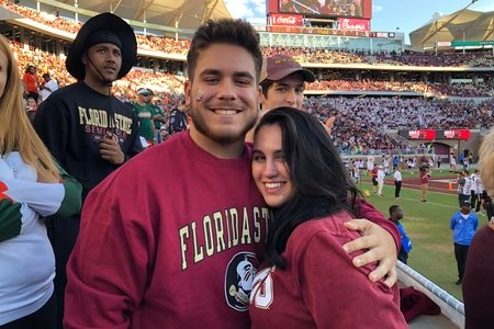 Me and Boyfriend FSU Game