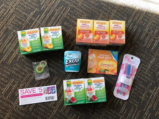 giveaway with emergen-c