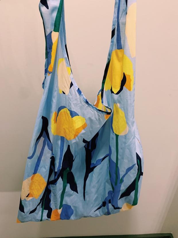 miranda torres reusable grocery bag