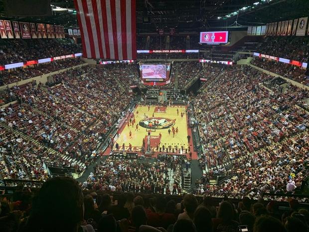 FSU basketball crowd