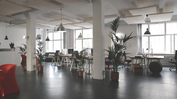 open office space job