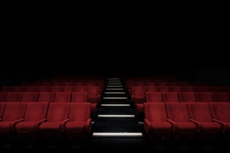 Empty movie seats