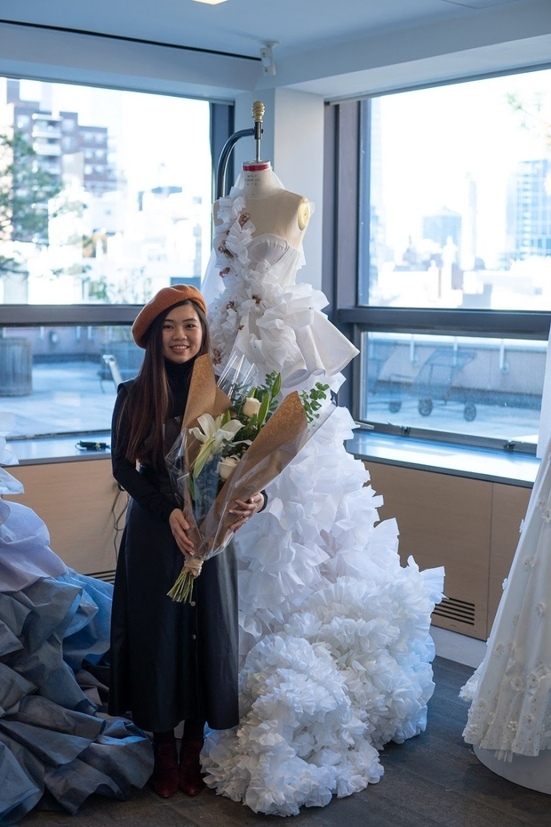 FIT sustainable wedding dress competition