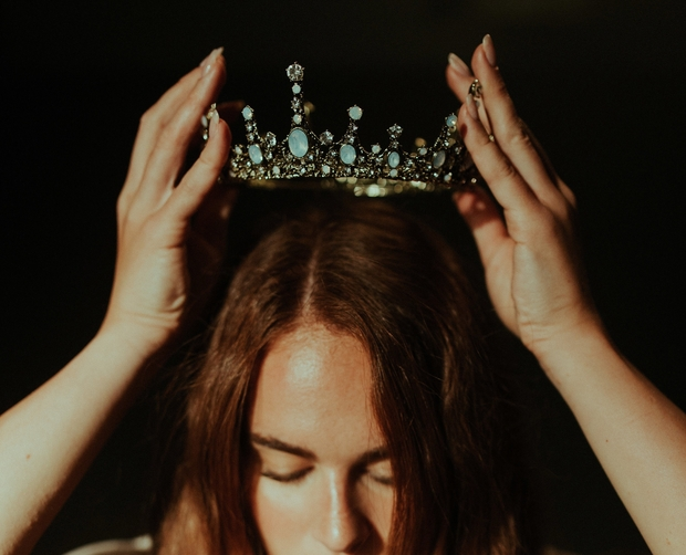 Woman with crown