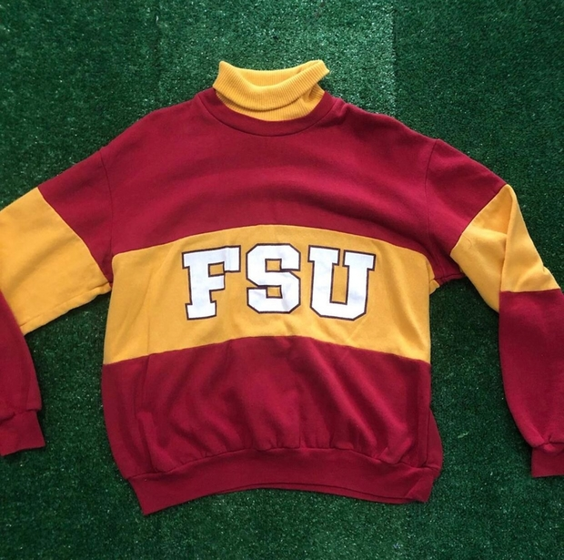 Striped FSU Sweater