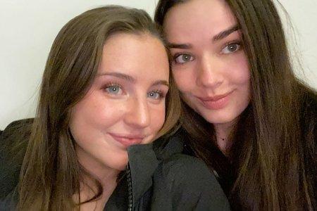 Campus cutie Nora and Katharine