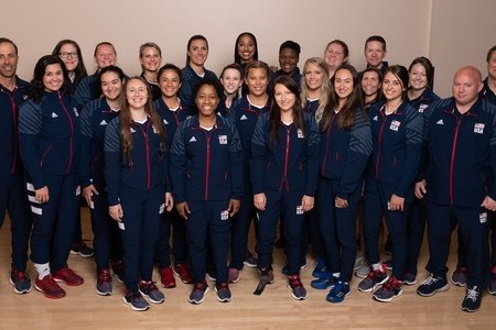 Paralympic Team (navy tracksuits)