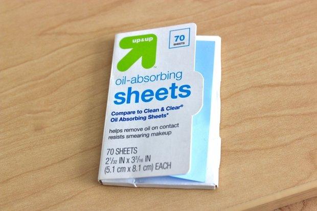 Photo of Oil Blotting Sheets