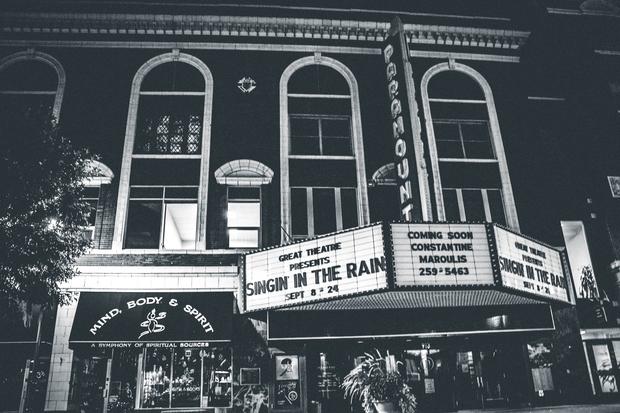 B&W Movie theater