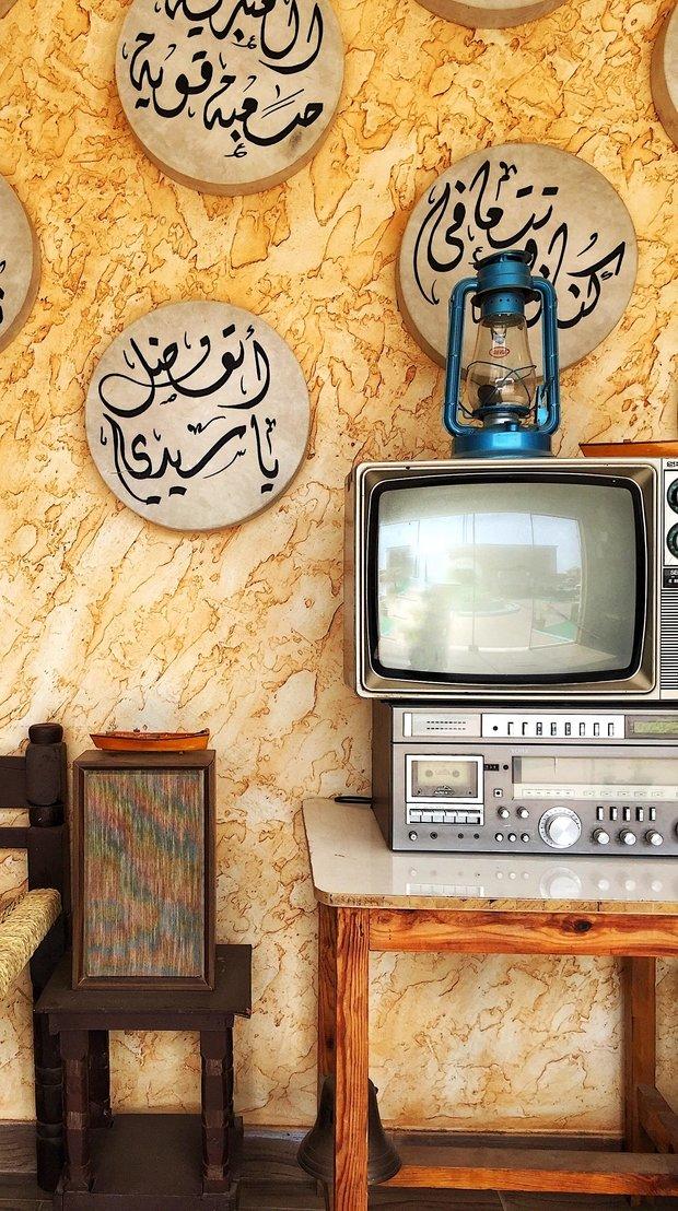 turned-off CRT TV photo