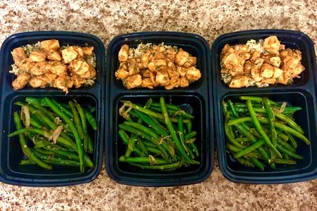 Meal Prep: Chicken with Green Beans