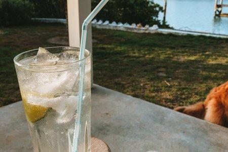 Vodka soda lime