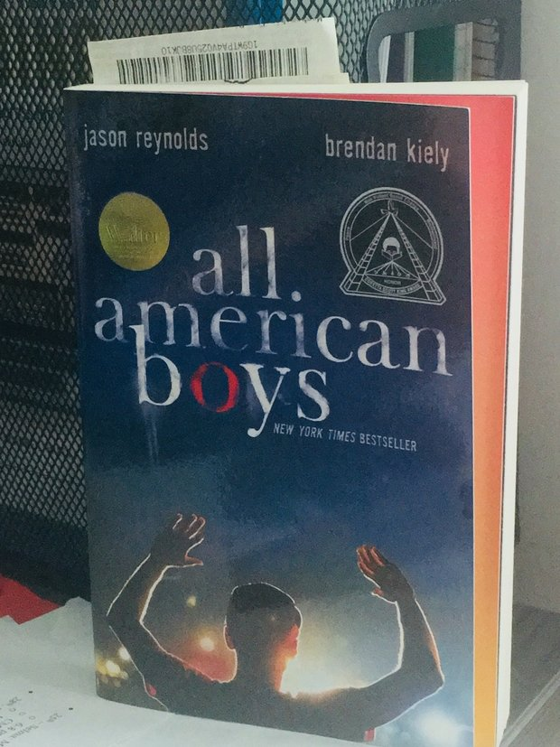 "Young adult book titled ""All American Boys"""