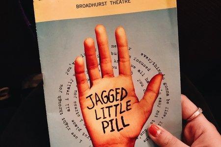 Image of Jagged Little Pill Playbill
