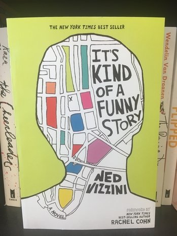 "An image of the young adult book ""It's Kind of a Funny Story"""
