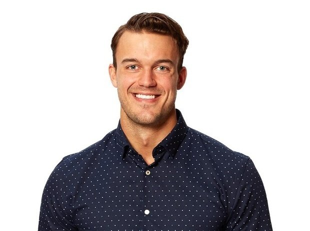 Man in front of white background