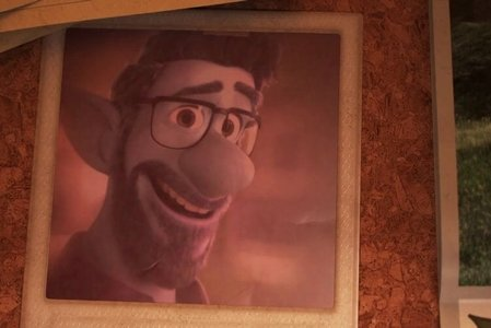 Ian and Barley's father from Pixar's Onward