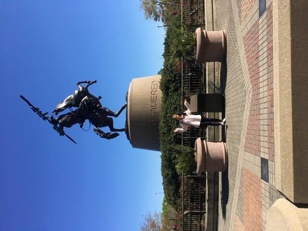 Me on my FSU tour