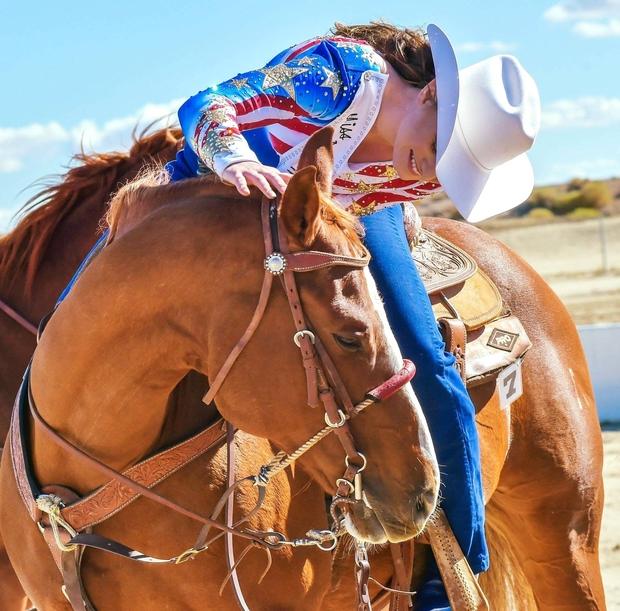 Miss Rodeo California Horsemanship