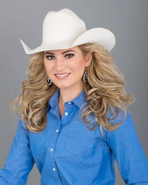 Miss Rodeo California Headshot