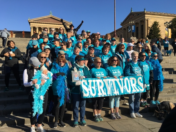 survivors of ovarian cancer