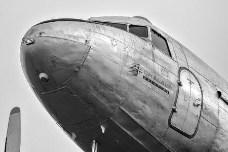 old airplane war plane