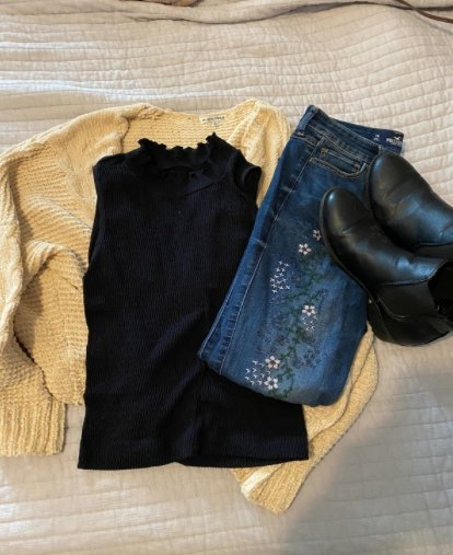 clothing from thrift store