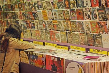 record store, music, vinyl