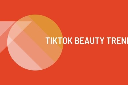 TikTok Beauty Trends. Article Graphic. Made with Canva