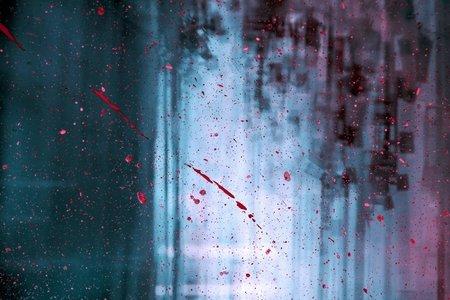 Blood droplets dark wallpaper