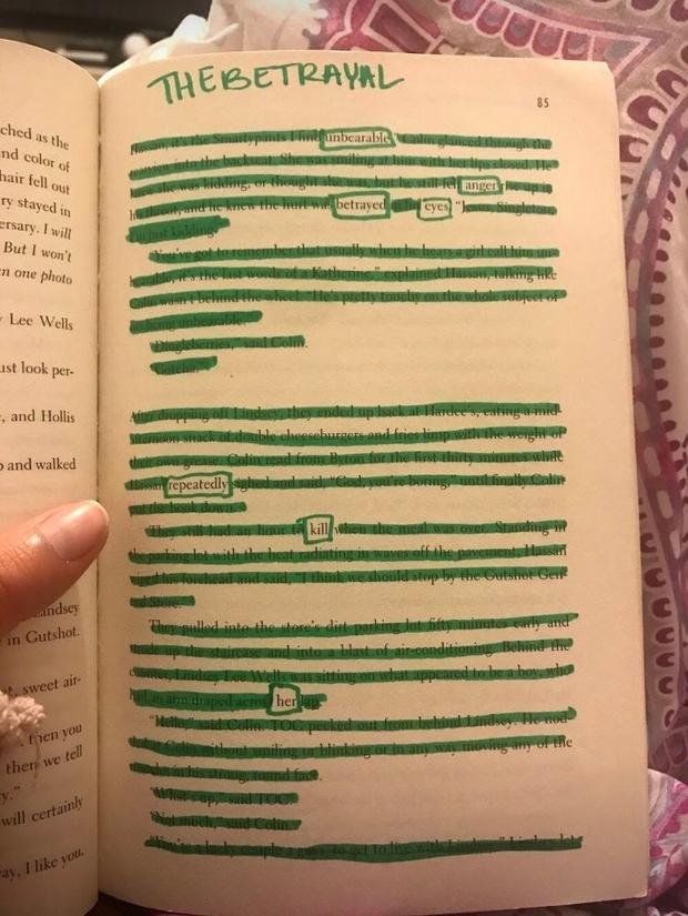 The betrayal poem
