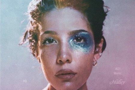 Halsey's cover of her album Manic